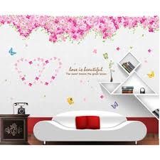 wallpaper home decor picture more detailed picture about cherry cherry blossom tree wall stickers plant theme vinyl wallpaper adesivo de parede home decor for living