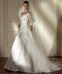 Wedding Dress Designs Wedding Gown With Sleeves 2013