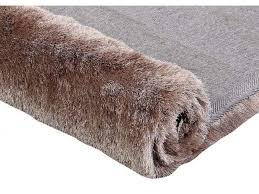 tapis shaggy tapis shaggy dolce taupe reflet beige polyester 4 tailles