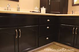 Thomasville Bathroom Cabinets And Vanities Master Bathroom Reveal 80s To Awesome The Kim Six Fix