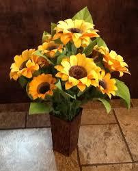 Sunflower Mesh Wreath Diy Sunflower Showcase Wee Folk Art