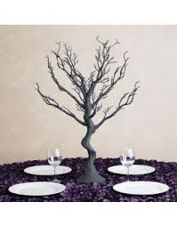 Tree Centerpiece 30 In Silver Manzanita Tree Centerpiece