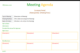 meeting minutes example