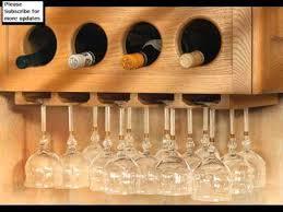 wine glass rack hanging wine glass racks youtube