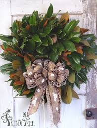 Christmas Tree Wreath Form - fresh magnolia wreath tutorial youtube