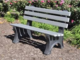 Park Benches Central Park Bench By Jayhawk Plastics Benches For Park Outdoor