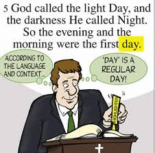what day did god create light could god really have created everything in six days answers in