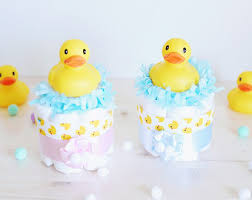 Rubber Ducky Baby Shower Centerpieces by Duck Diaper Cake Etsy