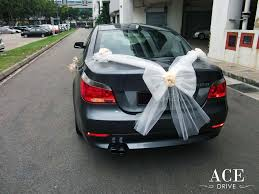 fresh wedding car decoration singapore iawa
