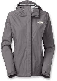 the north face women s venture rain jacket rabbit grey heather m