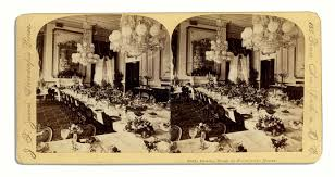 White House Dining Room Lot Detail Theodore Roosevelt 1906 Invitation To The White House