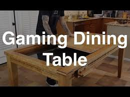 the gaming dining table youtube