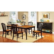 Furniture Of America Bedroom Sets Liberty Furniture Low Country Black Rectangle Leg Dining Table