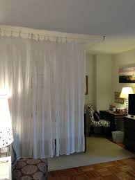 ikea curtain wire room divider curtain ideas