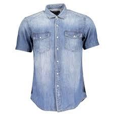 replay jeans micro stripe shirt light blue man from robert