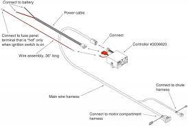 salt spreader wiring harness wiring schematics and wiring diagrams