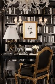 a ralph lauren home black and white study finds allure in gold