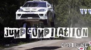 subaru rally jump rally jump compilation youtube
