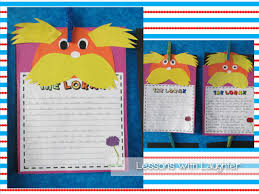 dr seuss writing paper dr seuss in the classroom lessons with laughter then of course we had to have some yummy dr seuss treats i got together with a couple friends and we all made these for our classes