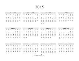 blank calendar template april 2015
