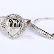 monogramed rings monogram rings archives incorporated