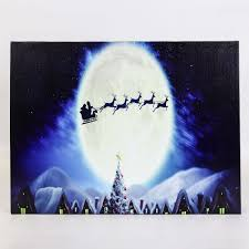 light up xmas pictures light up christmas canvas buy today from festive lights