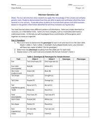 monster genetics lesson plans u0026 worksheets reviewed by teachers