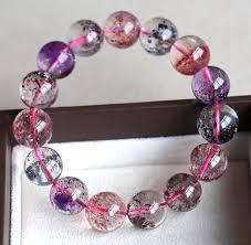 bracelet stone beads images Genuine super seven melody stone bracelet 12mm natural super jpg