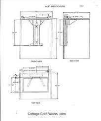 Sewing Cabinet With Lift by Arrow Bertha Sewing Cabinet With Air Lift Mechanism From