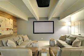 Projector Media Room - media room home theater traditional with movie room traditional