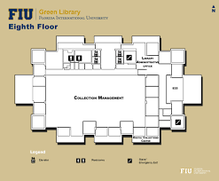 Florr Plans by Library Floorplans Fiu Libraries