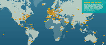 Iata Areas Of The World Map by The Airline Cooperative