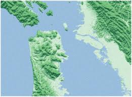 Washington State Relief Map by The Blog Of Andy Woodruff A Cartographer