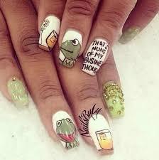 Meme Nail Art - kermit meme nail art ideas popsugar beauty photo 12
