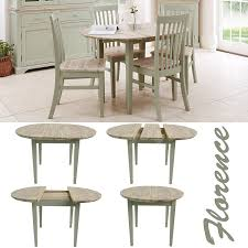 Round Kitchen Table by Florence Round Extending Table Round Kitchen Table In Sage Green
