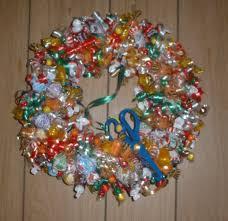 candy wreath gift baskets wreaths