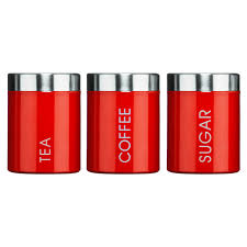 Red Glass Kitchen Canisters 100 Red Canister Sets Kitchen Copper Canister Sets For
