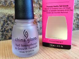 ashleigh and beth china glaze nail strengthener u0026 growth formula