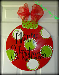 ornament door hanger on etsy 30 00