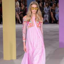 spring 2017 trends at london fashion week popsugar fashion