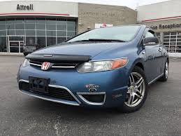 used 2007 honda civic cpe manual power windows a c 2 door car
