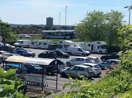 Car Park by Sainsbury U0027s Taking Action To Remove Travellers Who Have Set Up