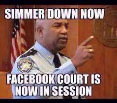 Facebook Comment Memes - facebook court is in session funny internet finds