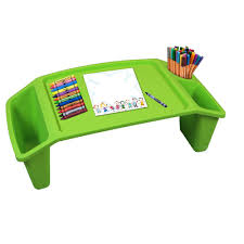 lap tables for eating basicwise green kids lap desk tray portable activity table qi003253g