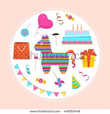 birthday stuff party stuff stock images royalty free images vectors