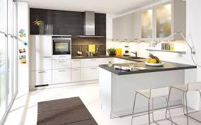 offene kuche in u form modern breite neue mit fenster uform tresen