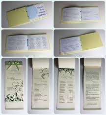 booklet wedding programs booklet programs emdotzee designs