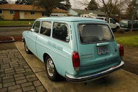 volkswagen squareback old parked cars 1972 volkswagen type 3 wagon