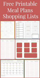 menu planners templates best 25 meal planning printable ideas on pinterest free free printables weekly meal plansweekly