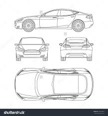 Floor Plan Front View by Plan View Stock Photos Images Pictures Shutterstock Car Line Draw